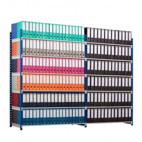 Rayonnage archives de stockage pour classeurs