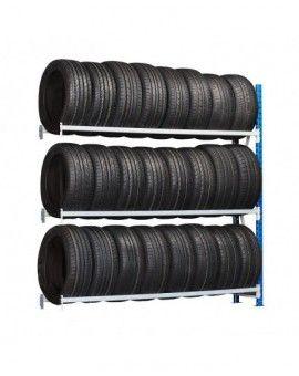 Rack de stockage et solution de rangement et support pour pneumatique