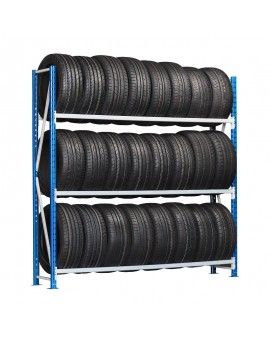 Rayonnage de rangement et support pour pneus
