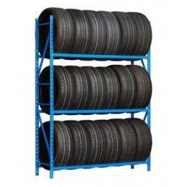 Rayonnage léger porte pneus