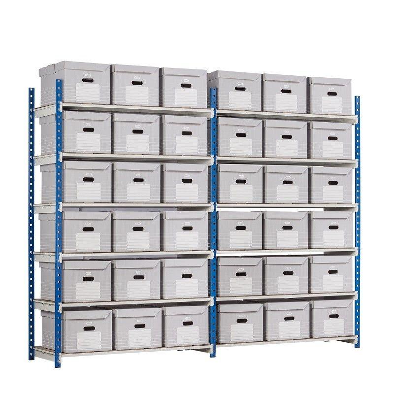 Étagère archives pour stockage des dossiers d'archives