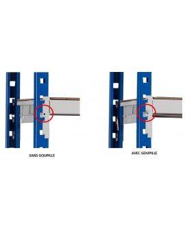 Goupille de sécurité pour rayonnage léger (lot de 10)