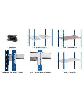Etagère métallique industrielle pour les professionnels et les particuliers
